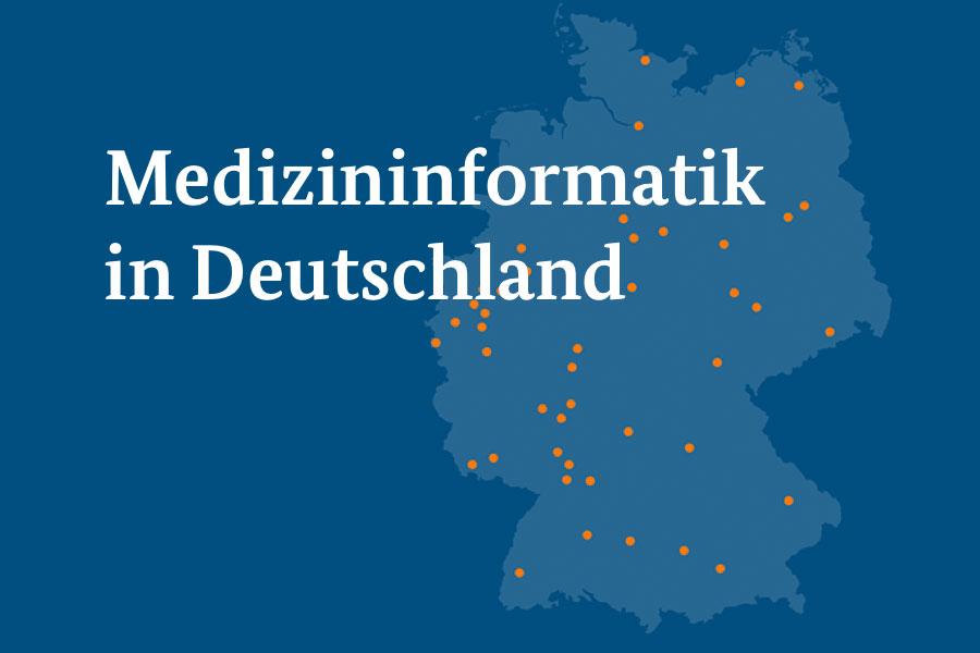 Interaktive Karte Zur Medizininformatik In Deutschland Jetzt Online